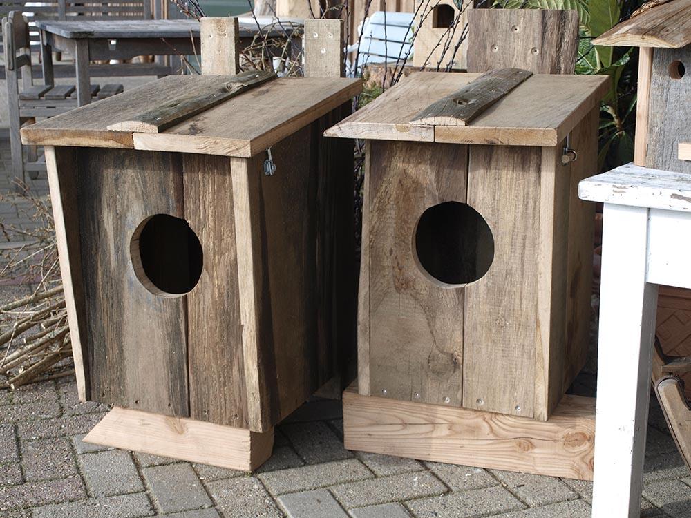 Vogelhaus selbstgemacht 3